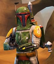 Boba on Tatooine Lot (CWA)