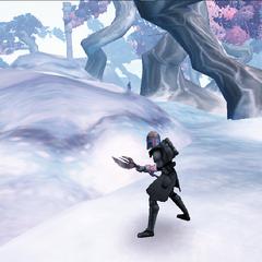 Commander Shox Hunting on Carlac