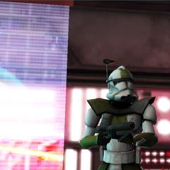 Commander Shox in the War Room