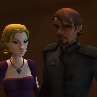 Kara's mother and stepfather, Holly Talon and Tarro Blood