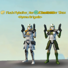 Commander Shox & Flash Flybolter