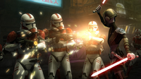 Ventress disarm Troopers