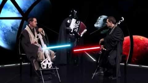 Cello Wars (Star Wars Parody) Lightsaber Duel - Steven Sharp Nelson