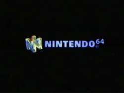 Nintendo 64 logo (The Legend of Zelda - Ocarina of Time variant)