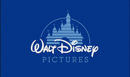 Walt Disney Pictures 1990 logo