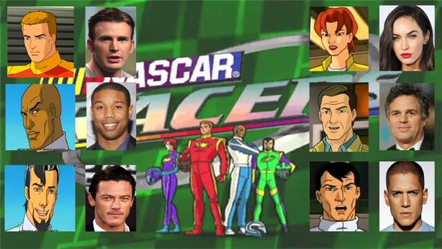 File:4.NASCAR Racers movie 2019 cast.JPG