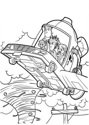 File:Cloudy with a Chance of Meatballs Flying Car 2 Coloring Page.jpg