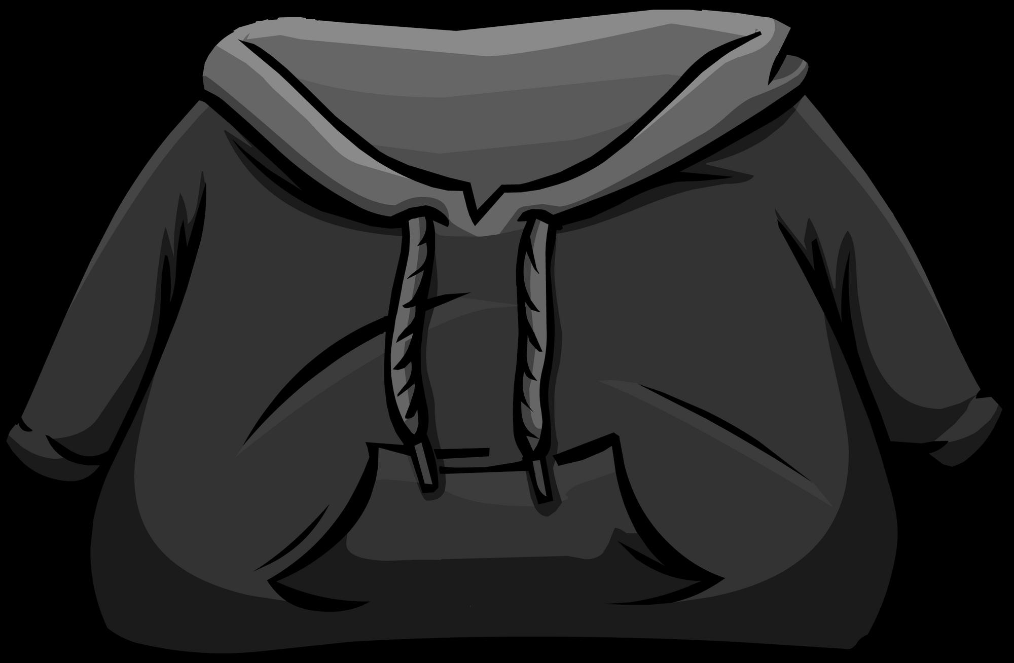Black Hoodie | Club Penguin Wiki | FANDOM powered by Wikia