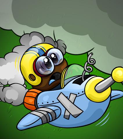 File:Brown Puffle Rocket card image.png