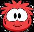 Red Puffle Costume Item