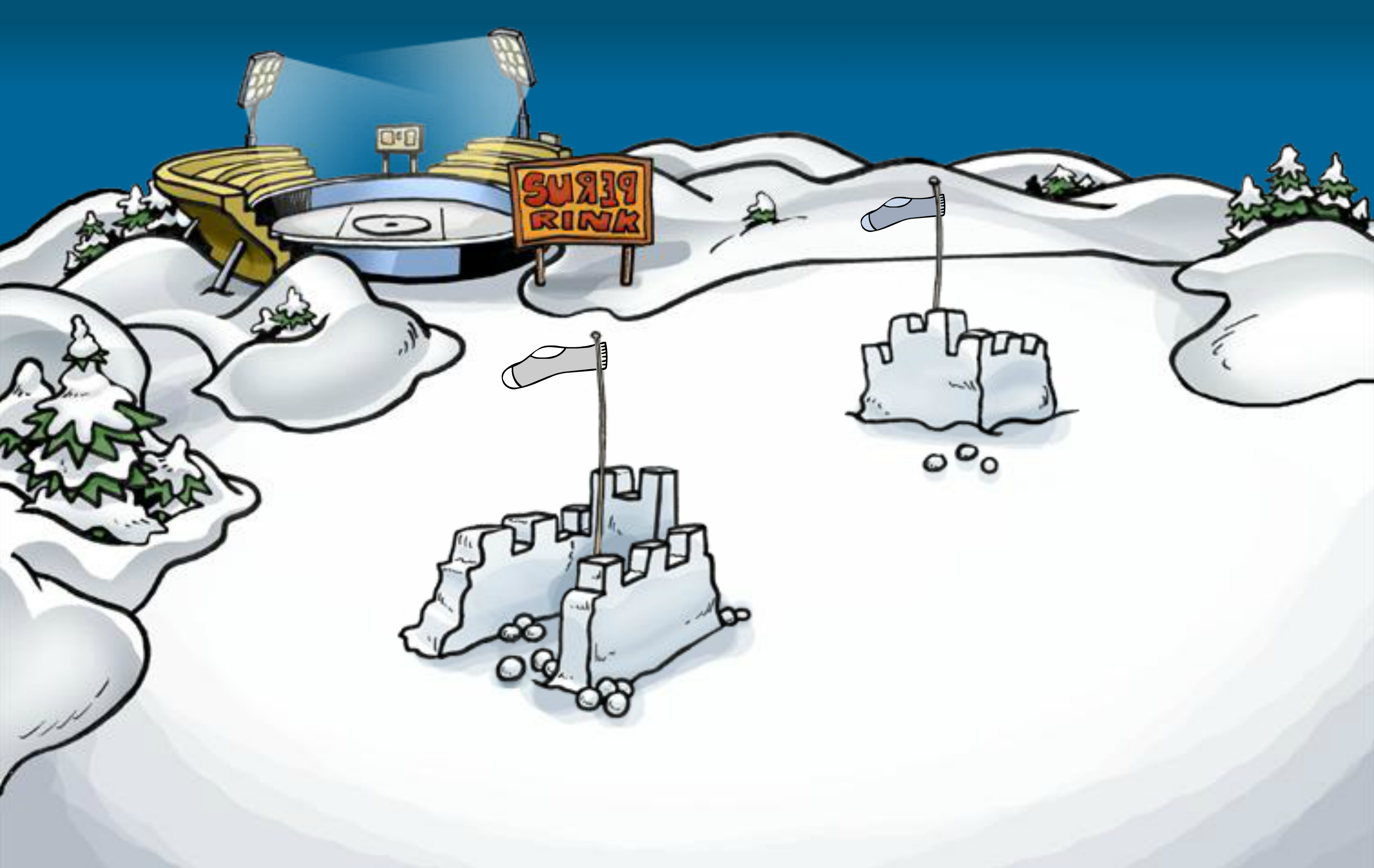 File:April Fools' Party 2006 Snow Forts.png