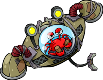 Klepto the Crab