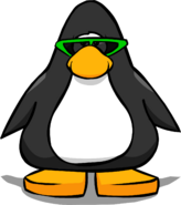 Green Sunglasses PC