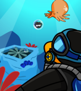 Puffle Rescue- Underwater card image