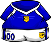 Blue Soccer Jersey clothing icon ID 778