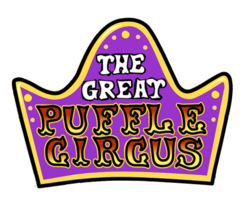 The Great Puffle Circus Logo