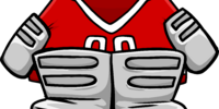 Red Goalie Gear