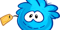 Blue Puffle Stuffie