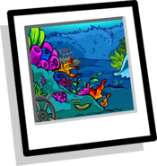 Coral Reef Background clothing icon ID 9053