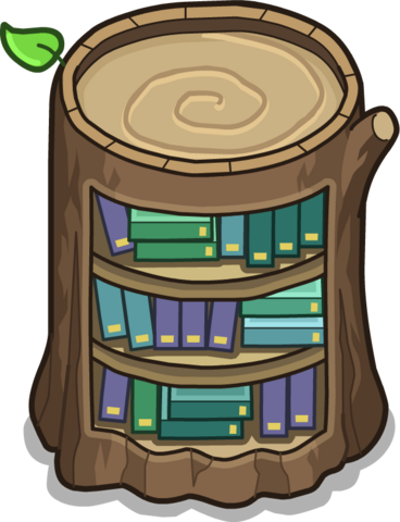 File:Stump Bookcase In-Game.png