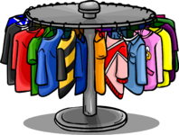 Clothes Rack furniture icon ID 633
