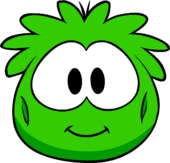 Green Puffle Costume clothing icon ID 4546