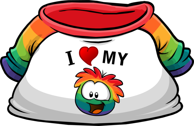File:I Heart My Rainbow Puffle T-Shirt clothing icon ID 4811.png