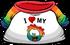 I Heart My Rainbow Puffle T-Shirt clothing icon ID 4811