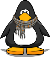 Checkered Scarf on a Player Card