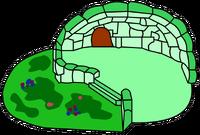 Green Clover Igloo igloo icon ID 32