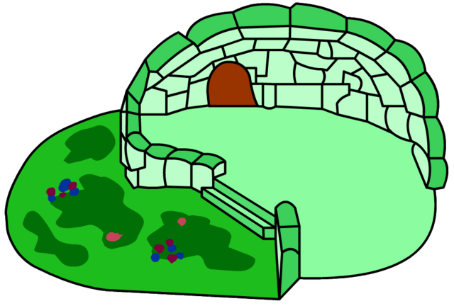 File:Green Clover Igloo igloo icon ID 32.png