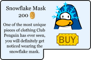 Snowflake Mask Catalog