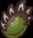 Prehistoric 2014 Eggs Stegosaurus Green