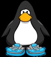 Blue Skater Shoes PC