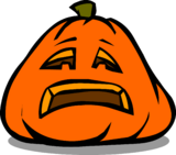 Sad Jack-O-Lantern sprite 002