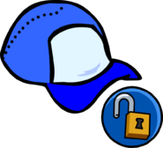 Blue Ball Cap unlockable icon