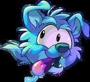 Dog Puffle Running