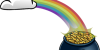 Rainbow with Pot O' Gold