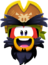 Emoji Excitied Rockhopper
