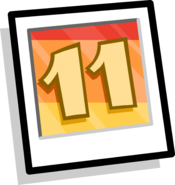 11th Anniversary Background icon