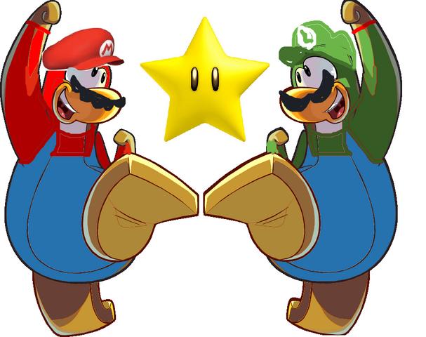 File:Mario and luigi mascot.png