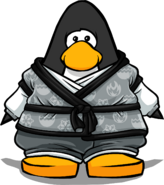 Tranquility Robe from a Player Card