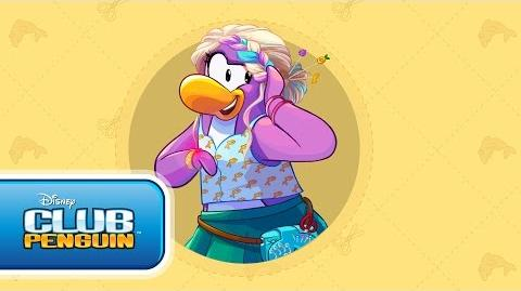 Meet Dot the Design Gal - Disney Club Penguin