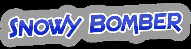 File:Snowy Bomber Logo Flamingtext.png