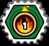 Score fire stamp