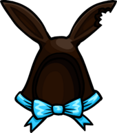 Dark Cocoa Bunny Ears clothing icon ID 1242