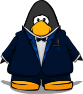 Navy Royale Tux player card