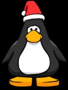 Santa hat player Card