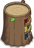 Stump Bookcase sprite 055
