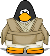 Jedi Robes on a Player Card